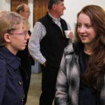 Teen girls love the ladies' seminars
